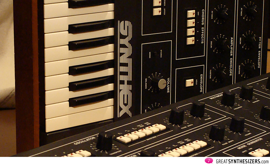Two Synthex side by side