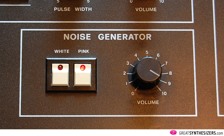Elka Synthex - noise generator