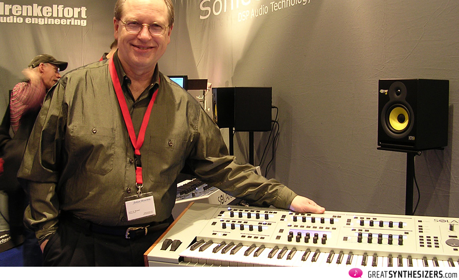 John at the Frankfurter Musikmesse