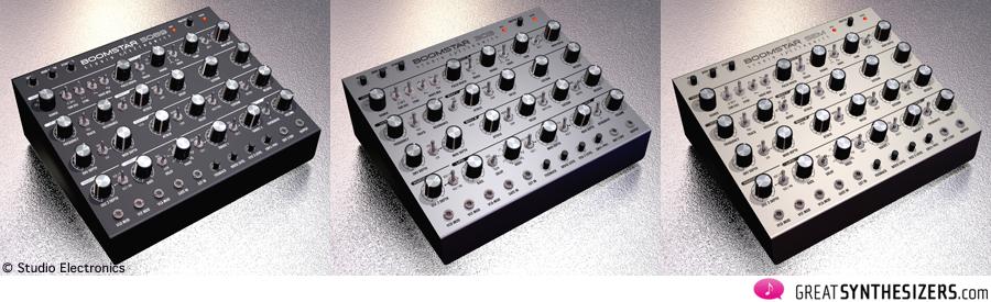 Studio Electronics - 5089-classic Moog 24db ladder, 303-classic Roland TB, SEM-classic Oberheim 12db Filter