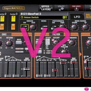 Roland Jupiter-80 V2 - drei neue Low Pass Filter