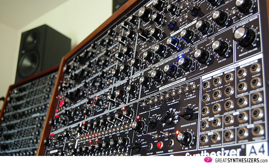 GRP A8 and GRP A4 synthesizer