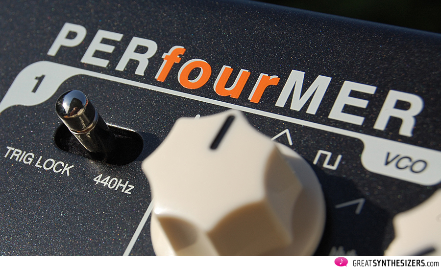 Vermona PERfourMER MKII Analog-Synthesizer.