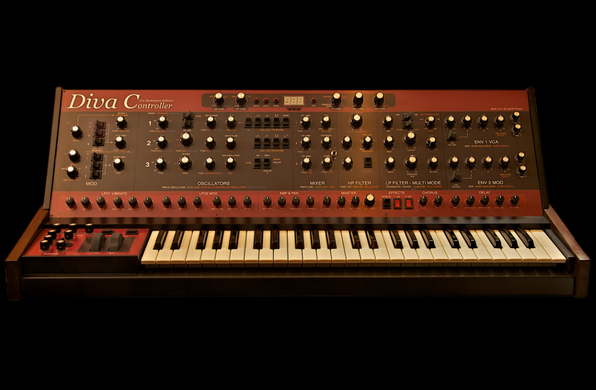 U-He DIVA Controller © synth-project