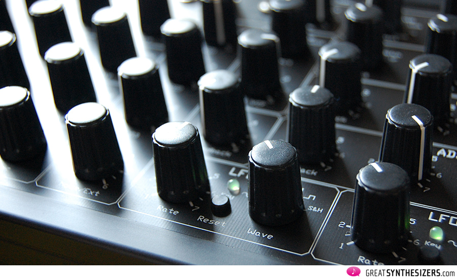 The OSCar effect: the knobs partially cover each other