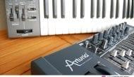 Arturia MiniBrute + Roland SH-101