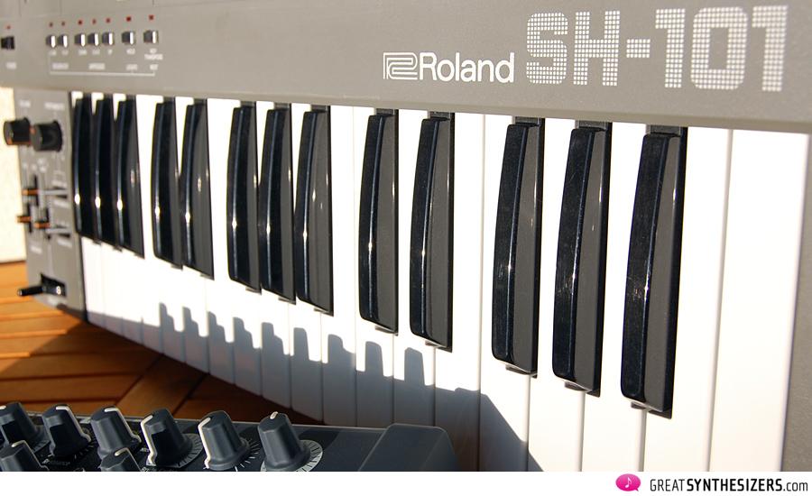 Arturia MiniBrute und Roland SH-101