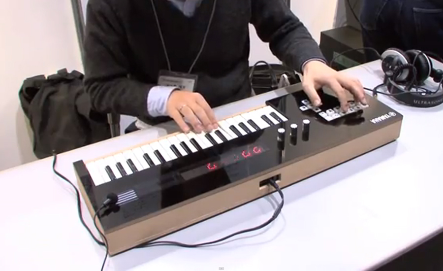 Yamaha Vocaloid Keyboard