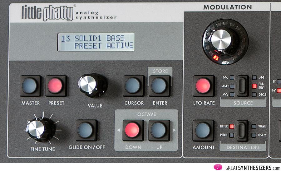 Moog Little-Phatty Modulation