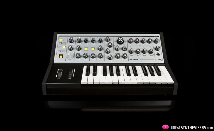 "NAMM 2013 – The new Moog Synthesizer ""Sub Phatty"