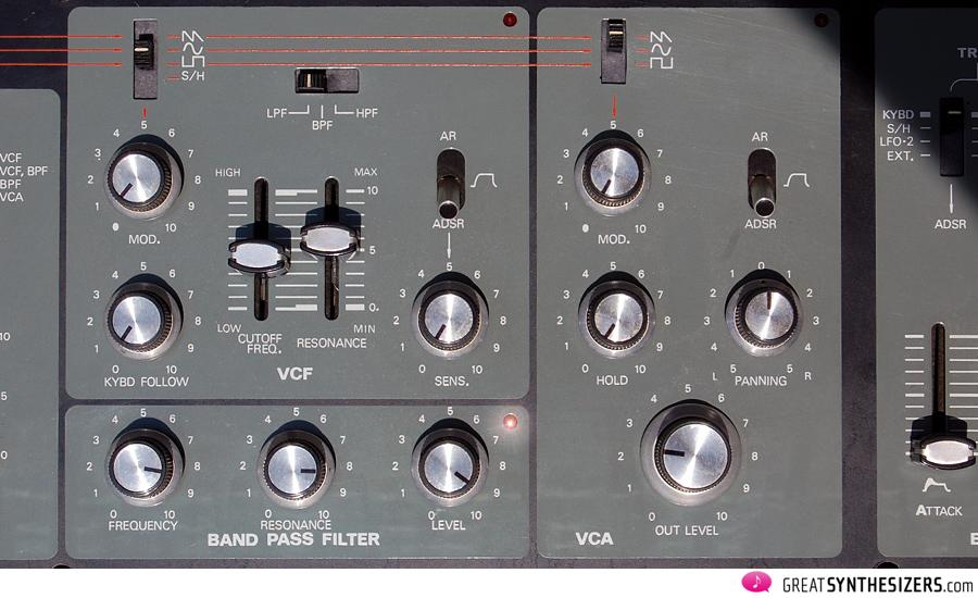 Roland-SH5-VCFs