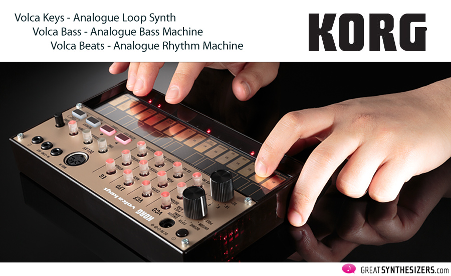 korg volca series new analog mini synths greatsynthesizers. Black Bedroom Furniture Sets. Home Design Ideas