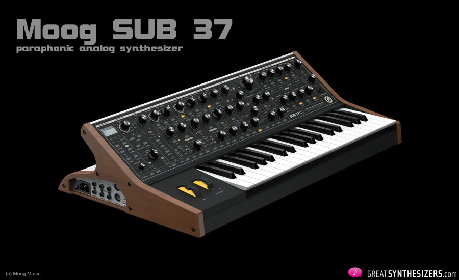 Moog-Sub37-Synthesizer