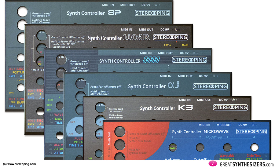 Stereoping-Controller-Designs