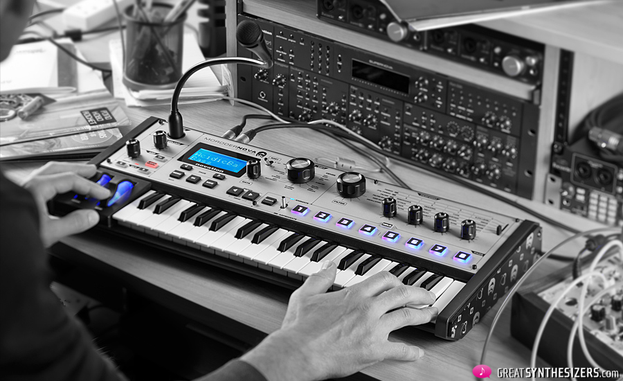 Novation-MoroderNova-Synthesizer-Studio