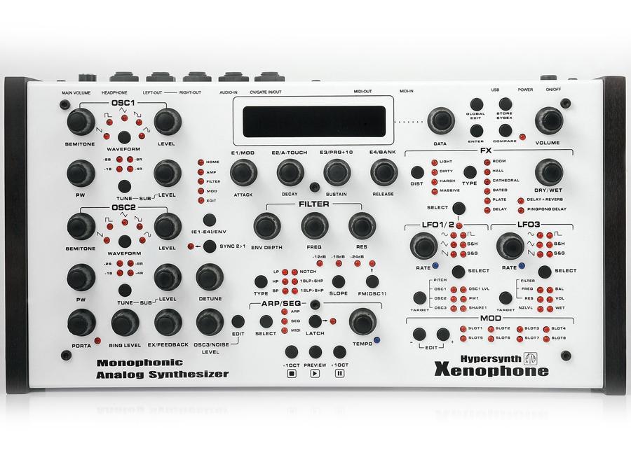 Hypersynth Xenophone Synthesizer