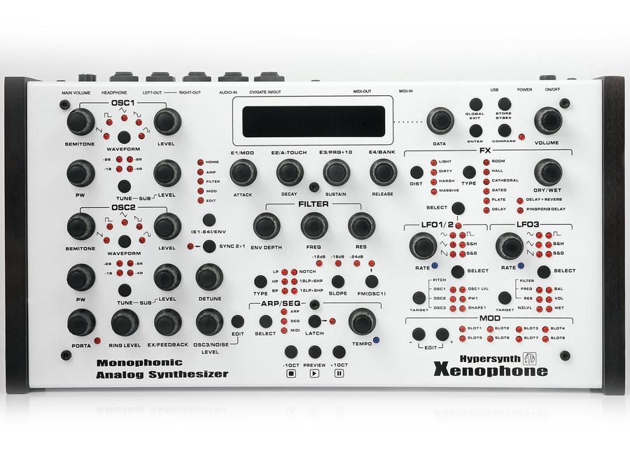 Hypersynth Xenophone Synthesizer