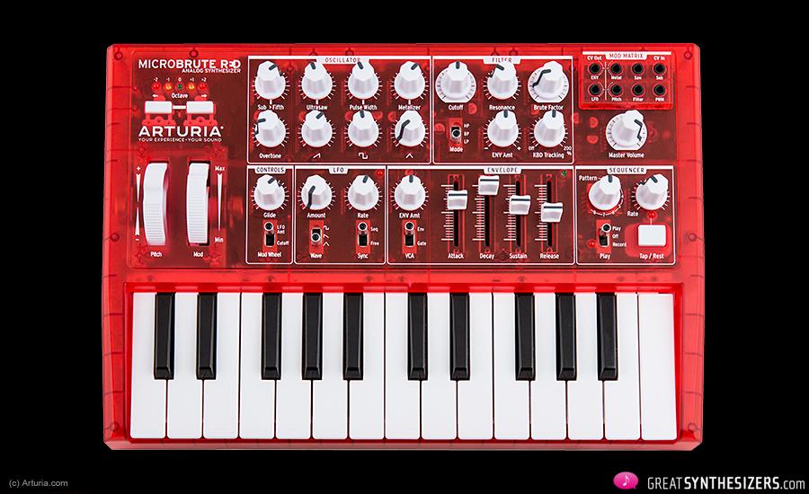 Arturia-MicroBrute-RED-1