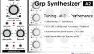 GRP A2 Synthesizer performanve features (I)