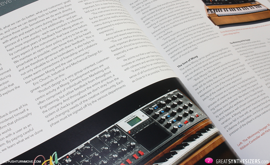 Push Turn Move - Synthesizer Book