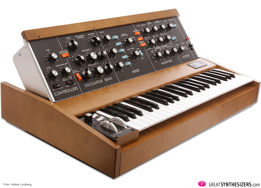 The MUSE – A Minimoog-Reissue Interface – GreatSynthesizers