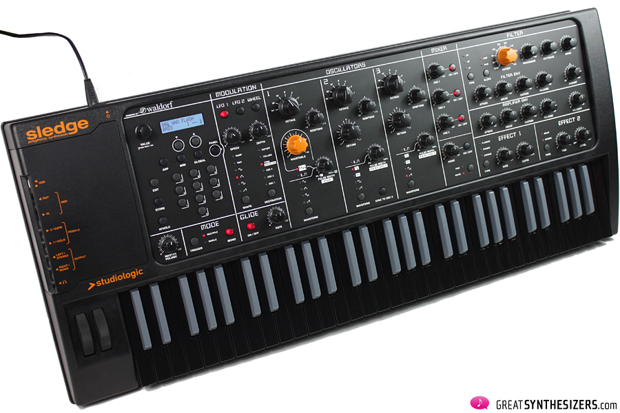 studiologic sledge 2 0 black a panther to be tamed greatsynthesizers. Black Bedroom Furniture Sets. Home Design Ideas