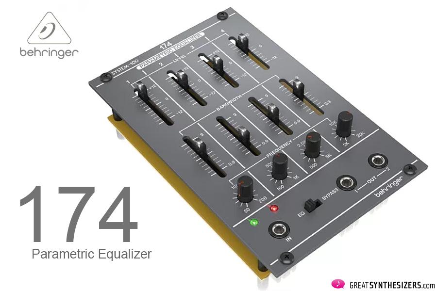 Behringer-System100M-Equalizer
