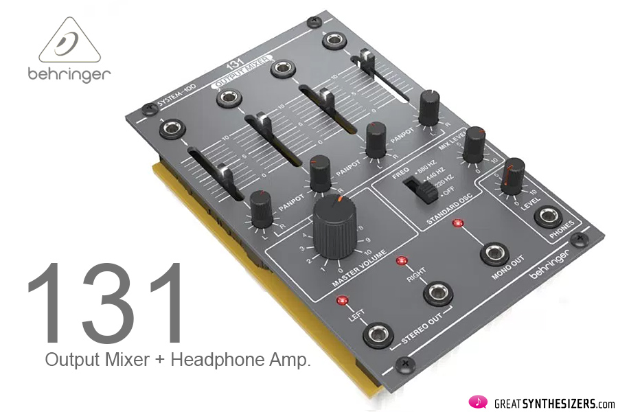 Behringer-System100M-Output-Mixer