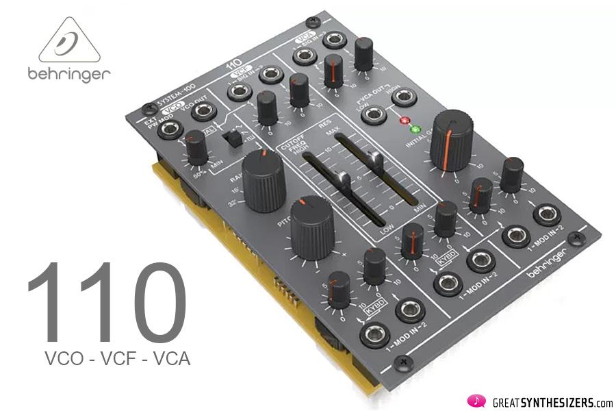 Behringer-System110M-VCO-VCF-VCA
