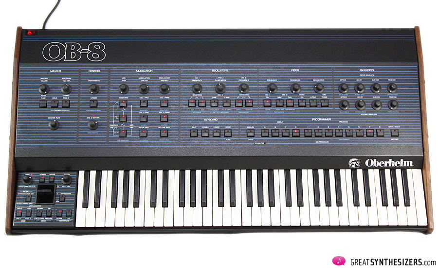 Oberheim OB-8 – L A  Sound with tricky software