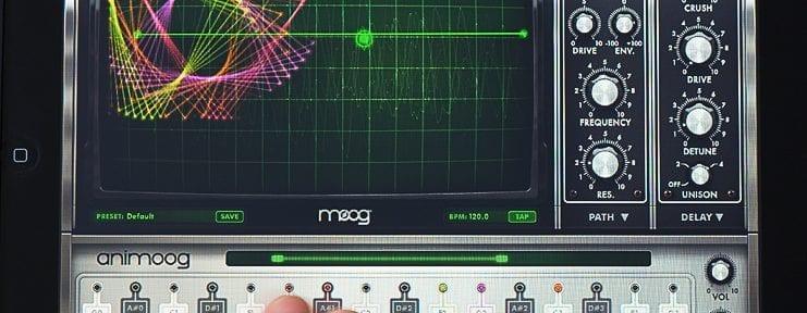 Moog Animoog for Apples iPad