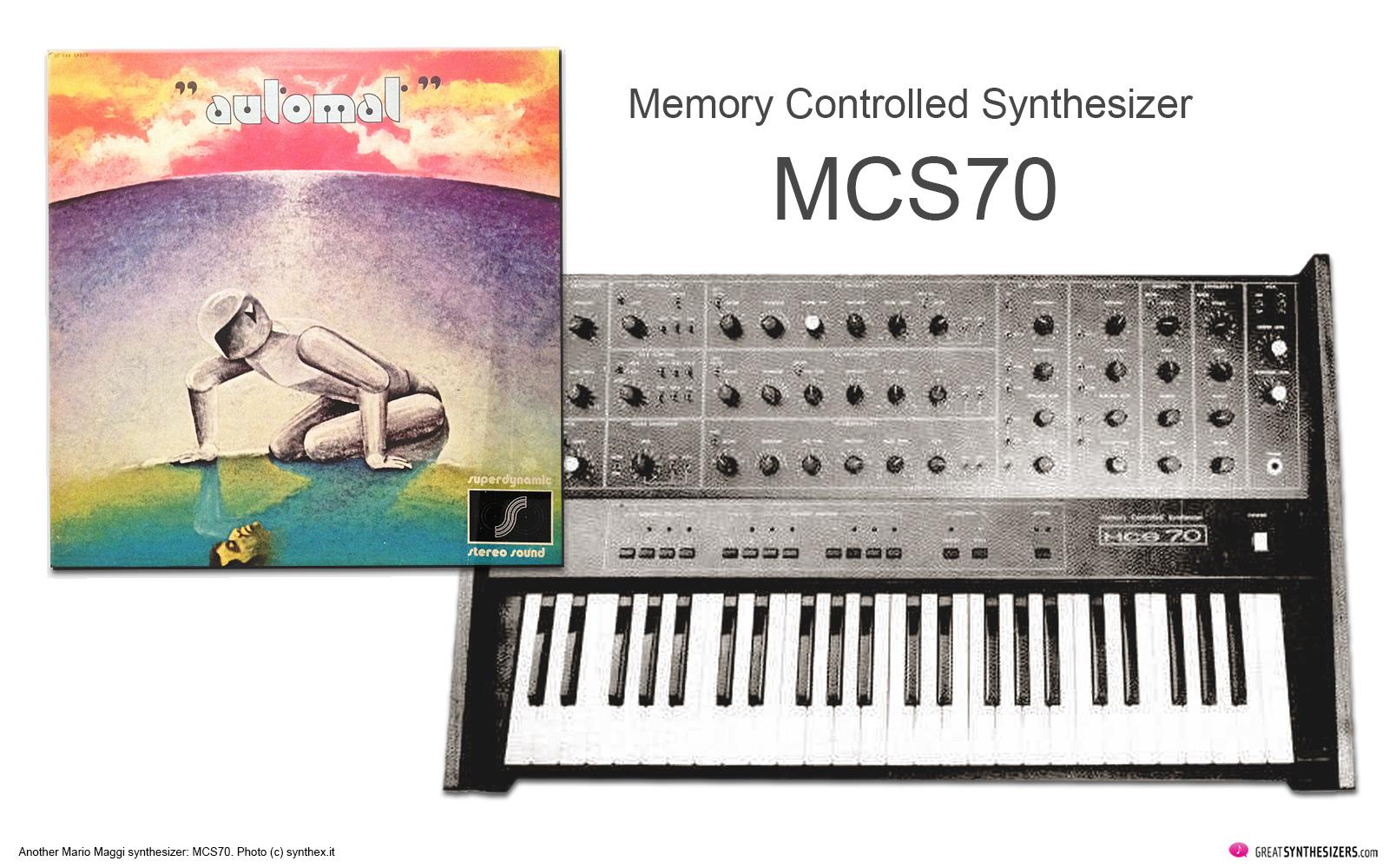 Mario Maggi MCS70 Synthesizer