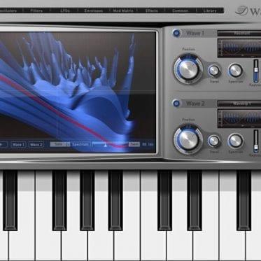 Waldorf iPad-Synthesizer