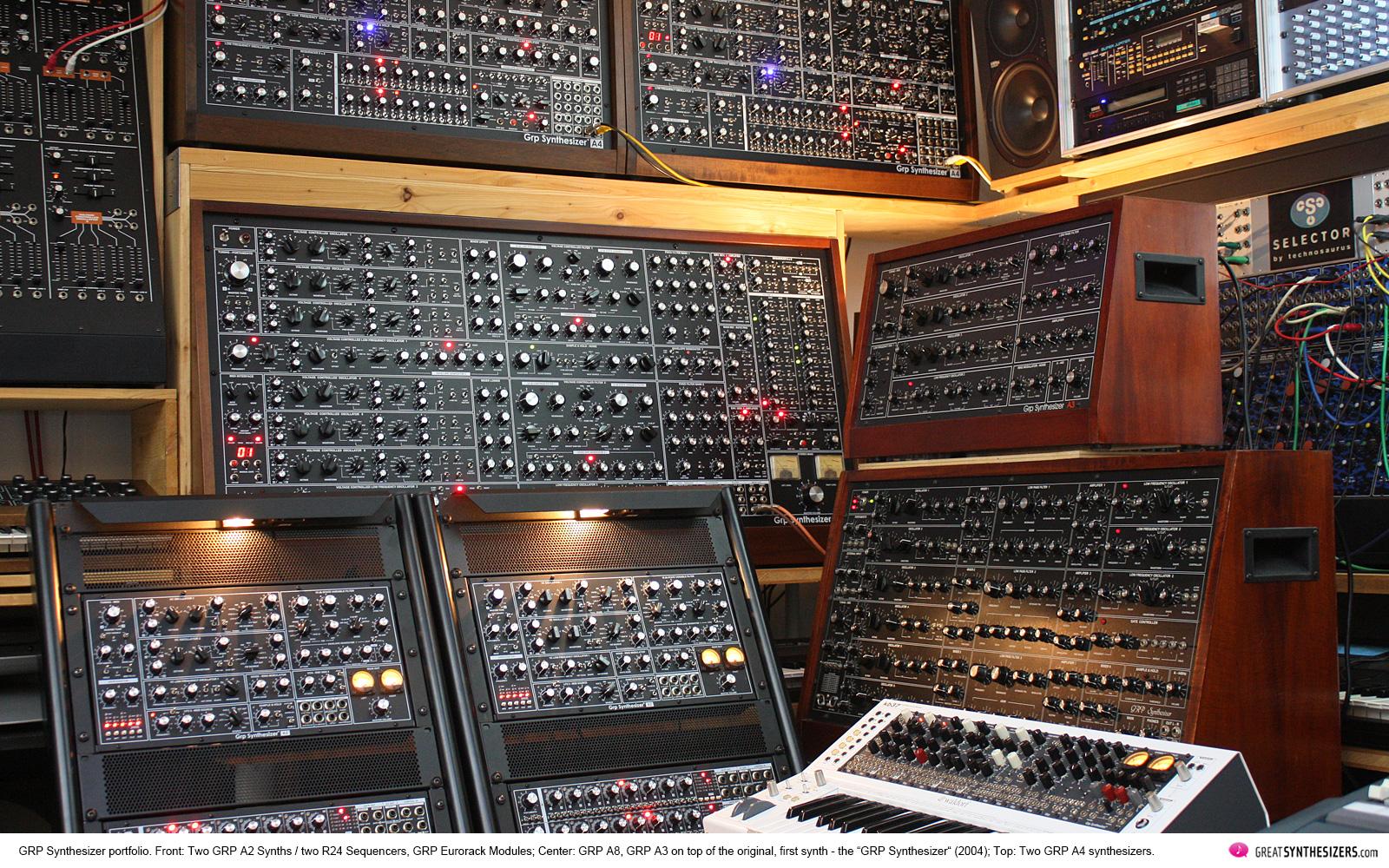 GRP Synthesizer - A2 - A3 - A4 - A8 - Eurorack