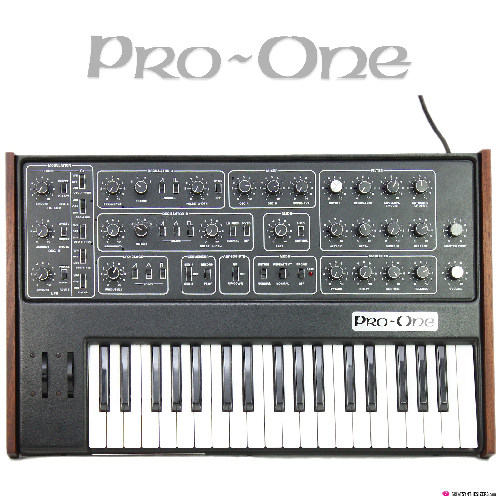 Sequential Pro-One Synthesizer