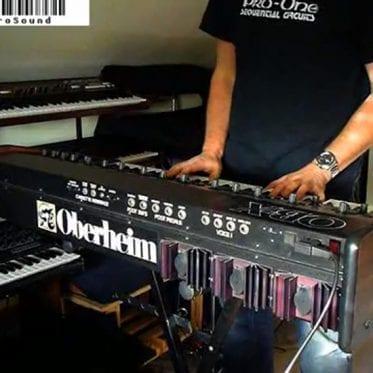 RetroSound Oberheim OB-X