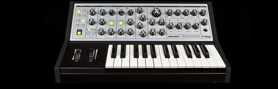 Moog Sub Phatty © Moog Music