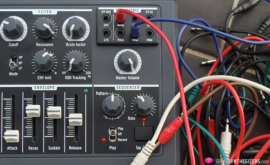MicroBrute-Patchcords