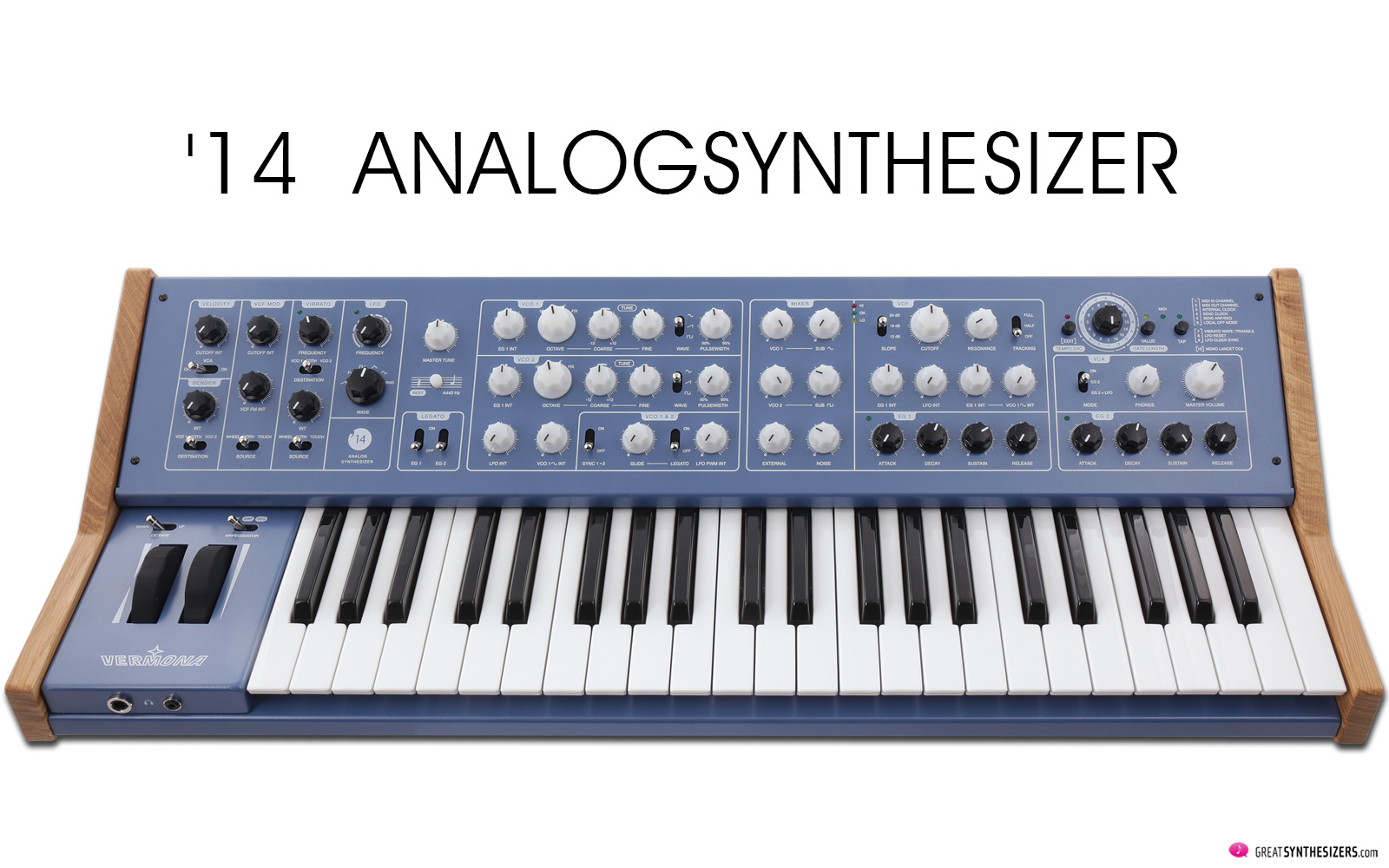 Vermona 14 Analogsynthesizer