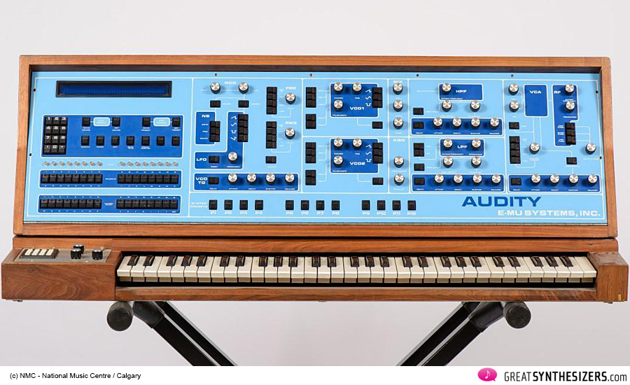 E-MU Audity Synthesizer / NMC