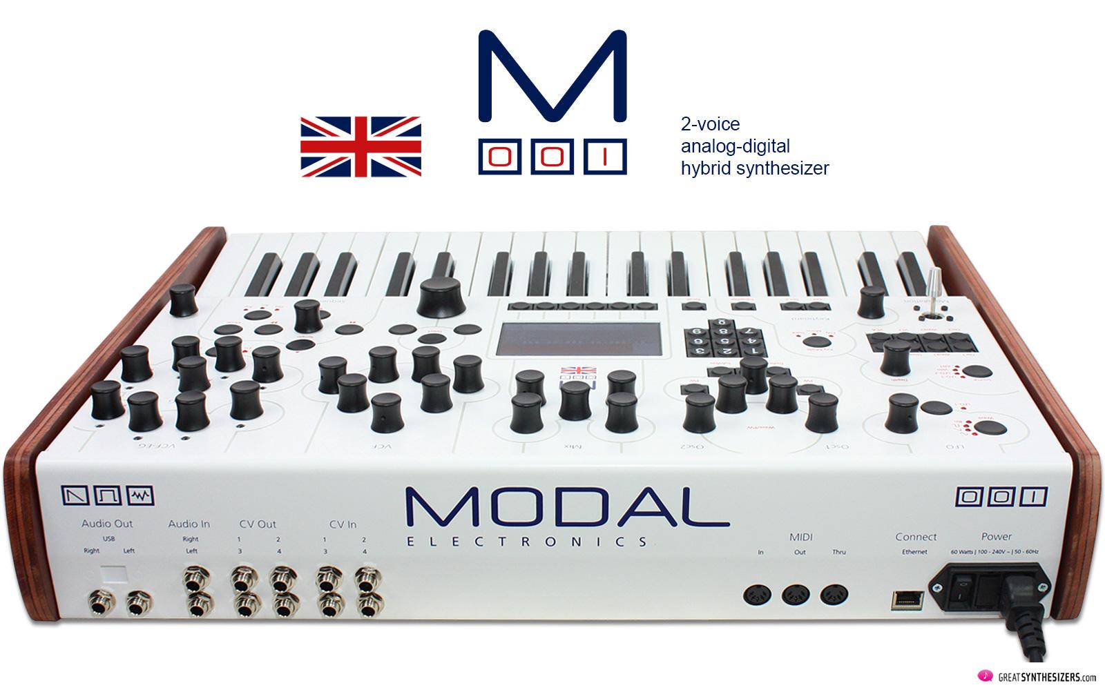 Modal Electronics 001 Synthesizer