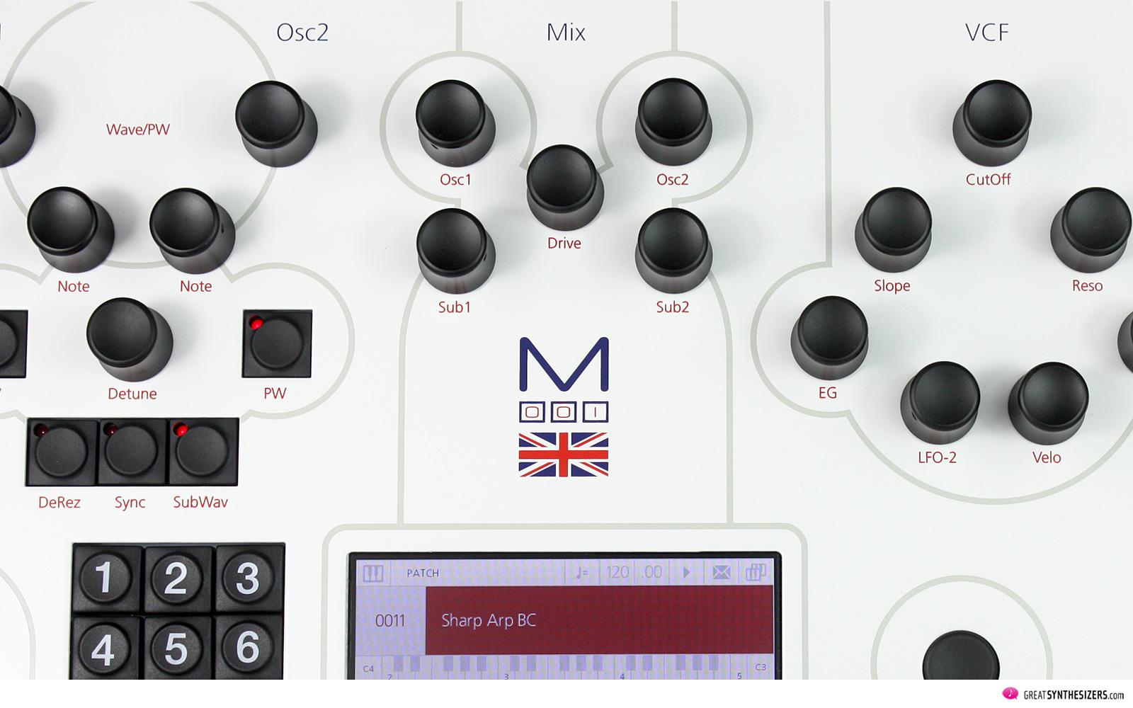 Modal ElectrModal Electronics 001 Synthesizeronics 001 Synthesizer