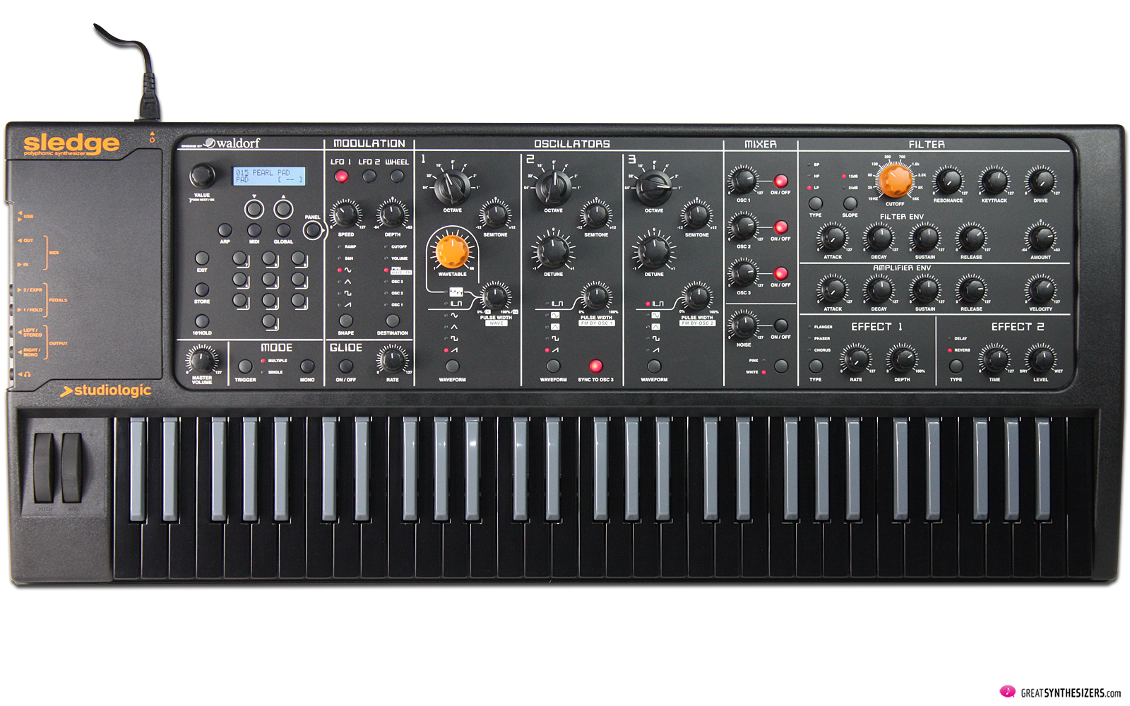 Studiologic Sledge Synthesizer / Sledge 2.0 / Sledge Black