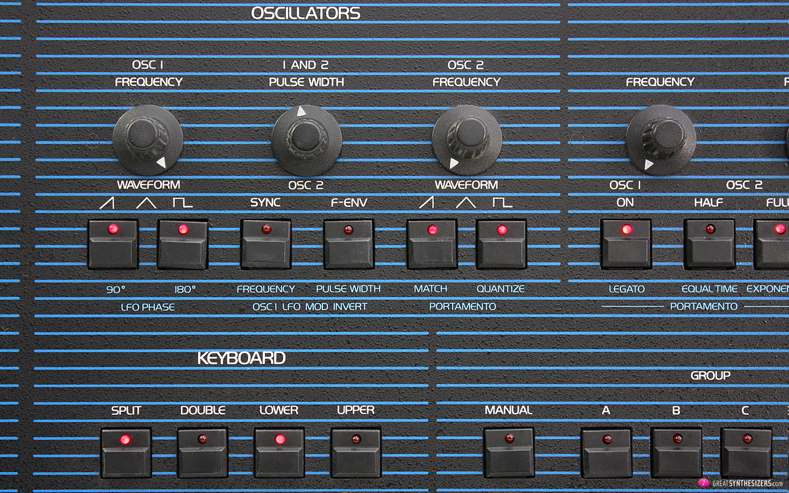 Oberheim OB-8 Synthesizer