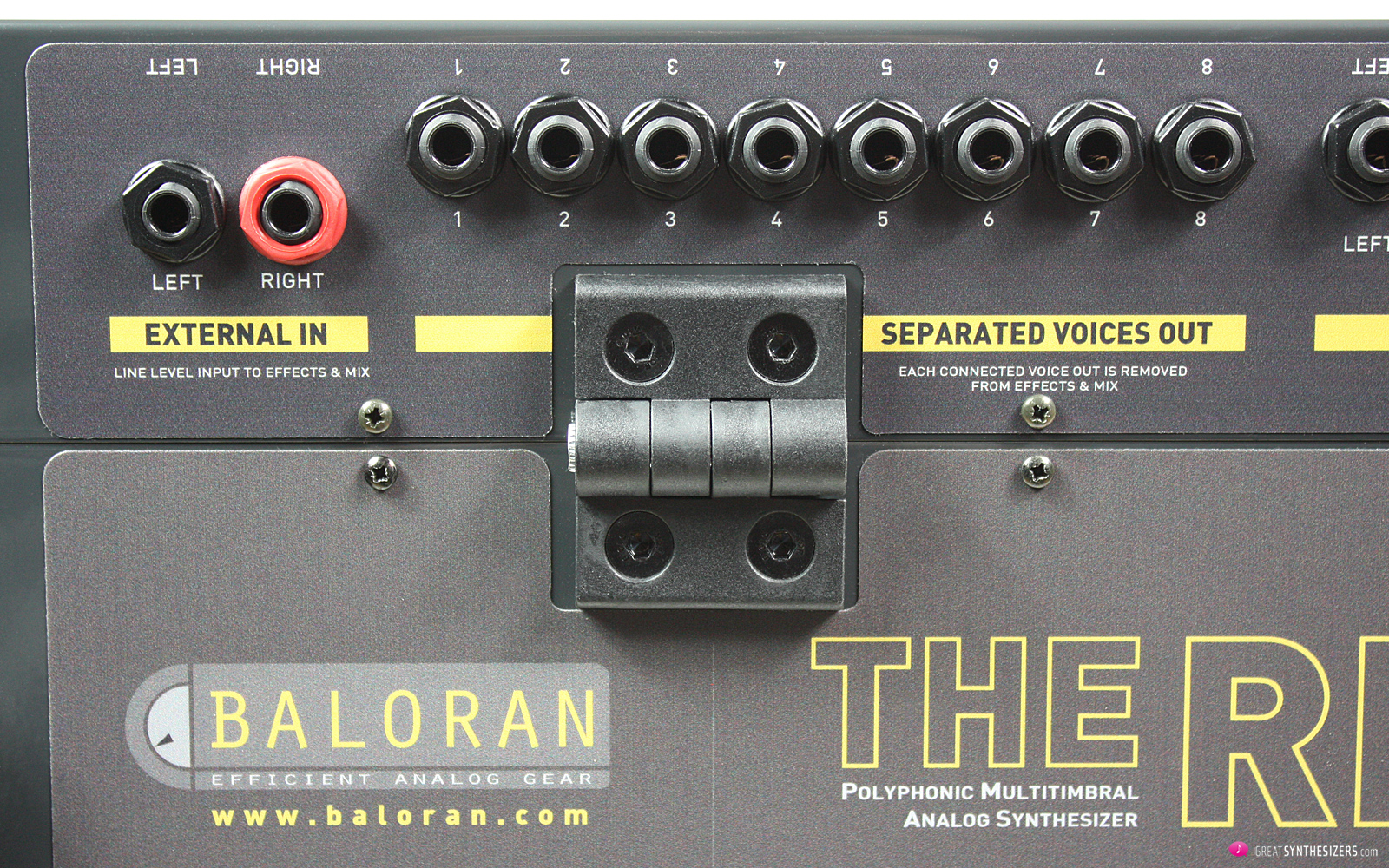Baloran THE RIVER Synthesizer
