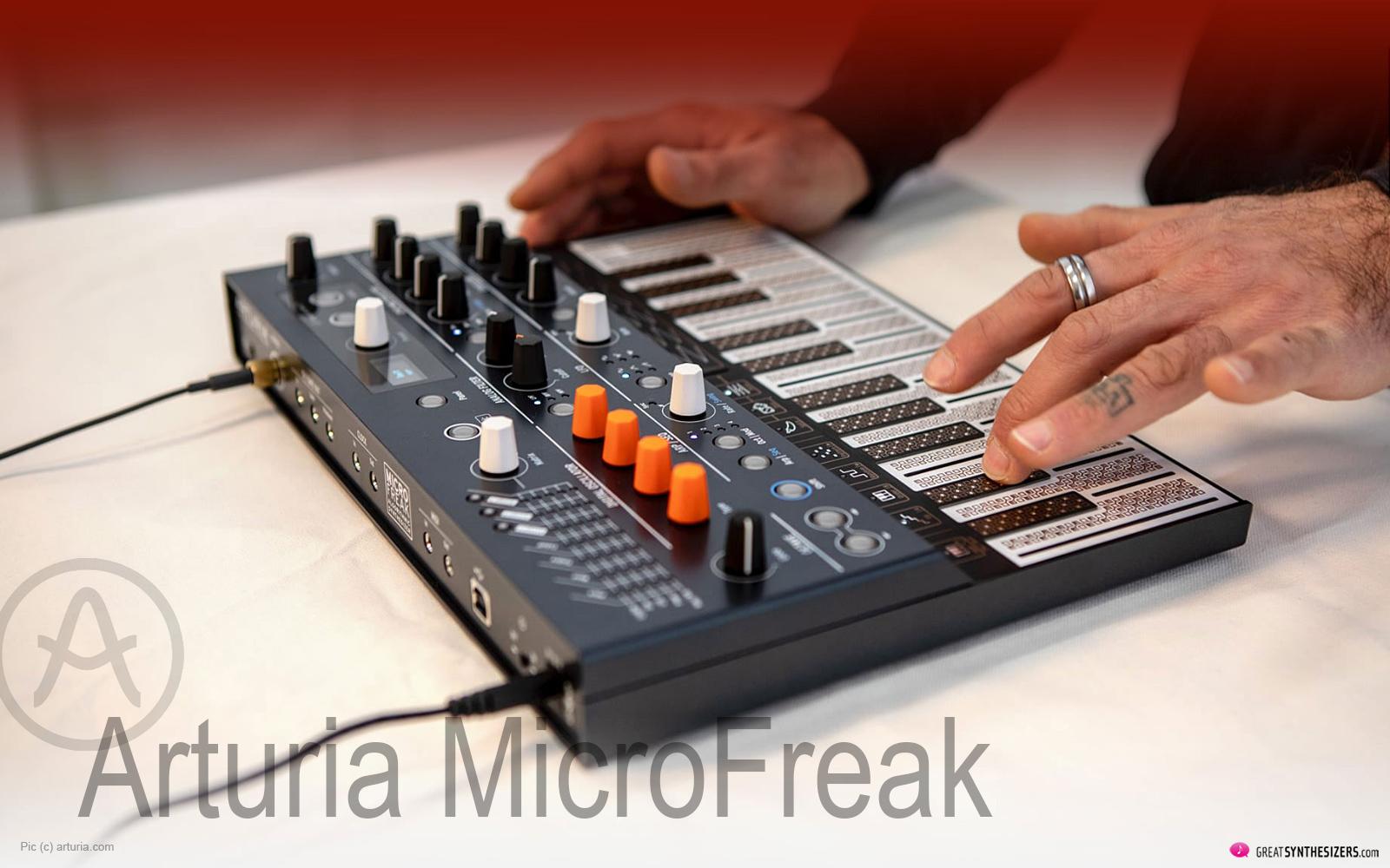 arturia microfreak  u2013 der  u201ealgorithmic synthesizer
