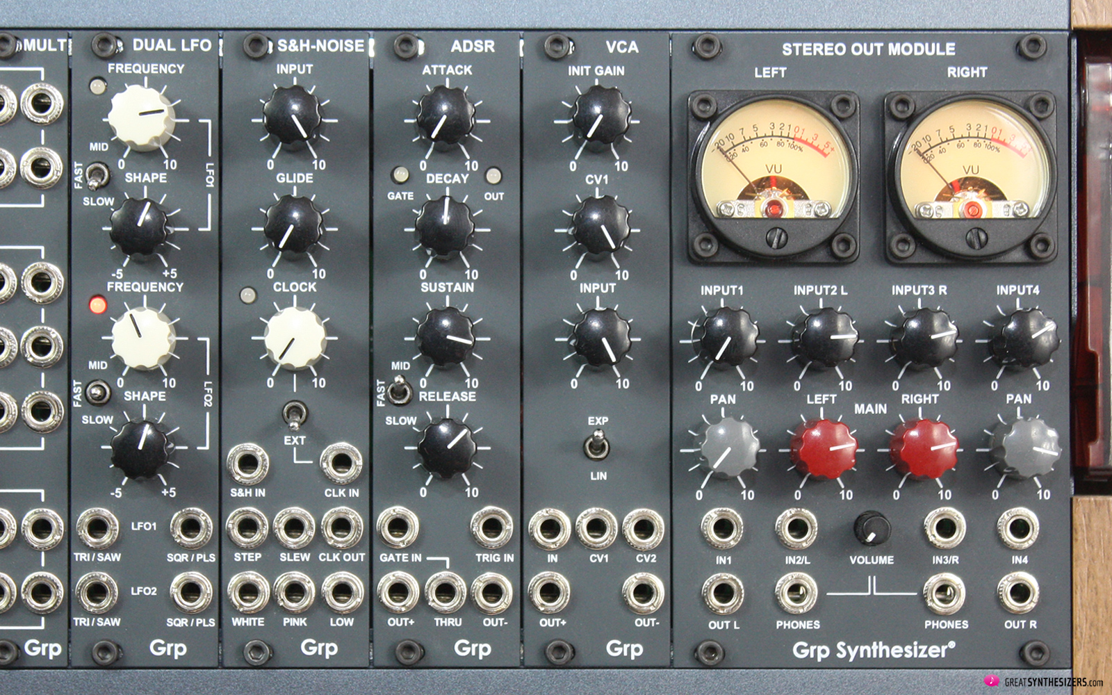 GRP Eurorack Synthesizer