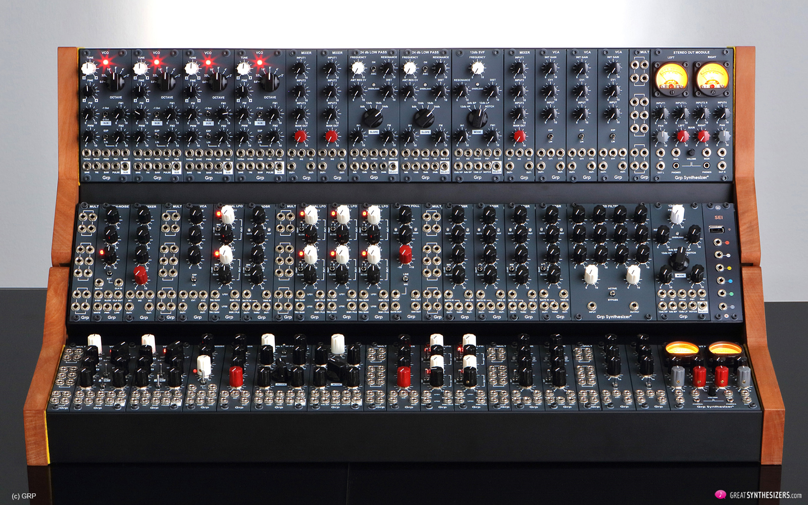 GRP Eurorack Synthesizer Modules - Modular Synthesizer