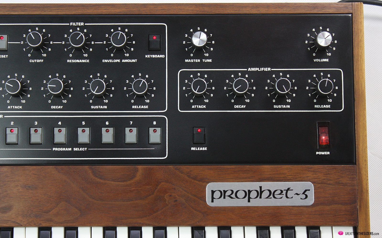 Sequential Prophet-5 Synthesizer Revision 1