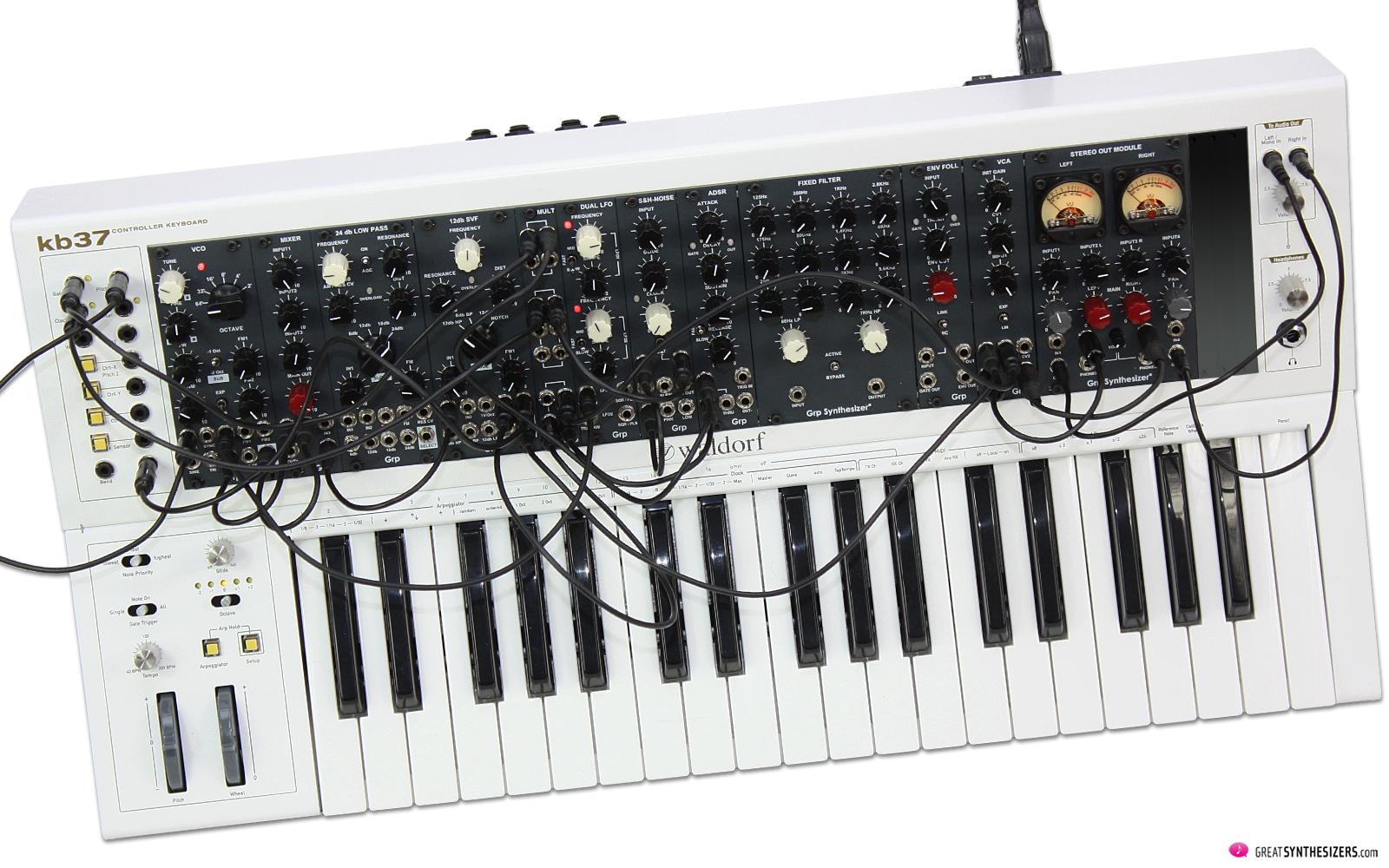 GRP Eurorack Synthesizer Modules - Waldorf kb37